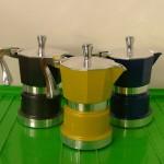 กาต้มกาแฟอิตาลี ใช้งานง่าย วัสดุทนทาน สวยงาม ใช้กับเตาไฟฟ้า
